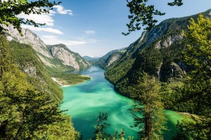 Панорама озера Кёнигзее