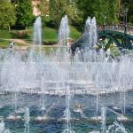 Фонтан в парке Царицыно