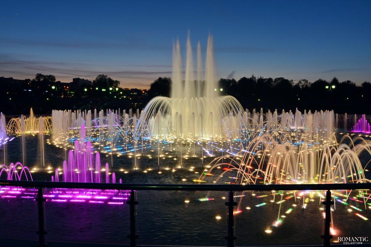 Музыкальный фонтан в парке Царицыно