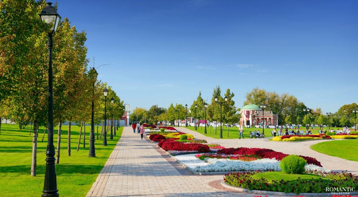 Аллеи парка Царицыно