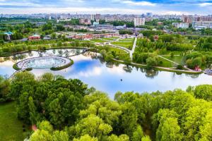 Пруды в парке Царицыно