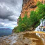 Водопады парка «Голубые горы»