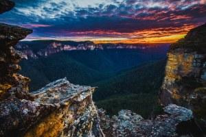 Парк «Голубые горы» в Сиднее