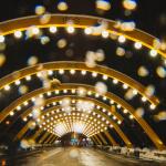 Аллея арок в Парке Сокольники