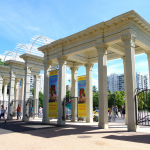 Главный вход в парк Сокольники