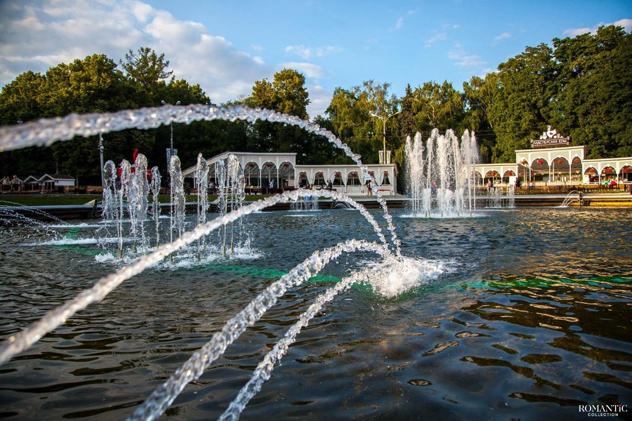 Фонтанная площадь в парке