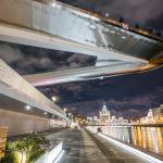 Парящий мост в «Зарядье»