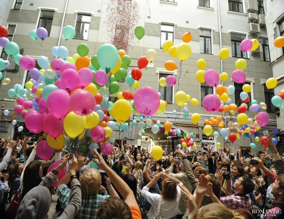 День исполнения желаний около Дома Булгакова