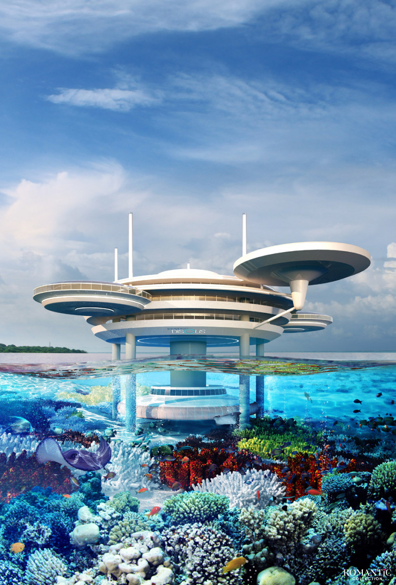 Подводный отель Hydropolis Undersea Resort