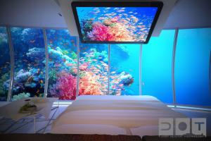 Номер подводного отеля
