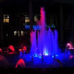 Поющие фонтаны на Платановой аллее в Сочи