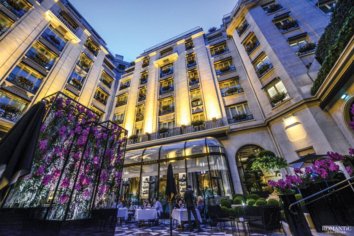 Отель «Георг V» в Париже