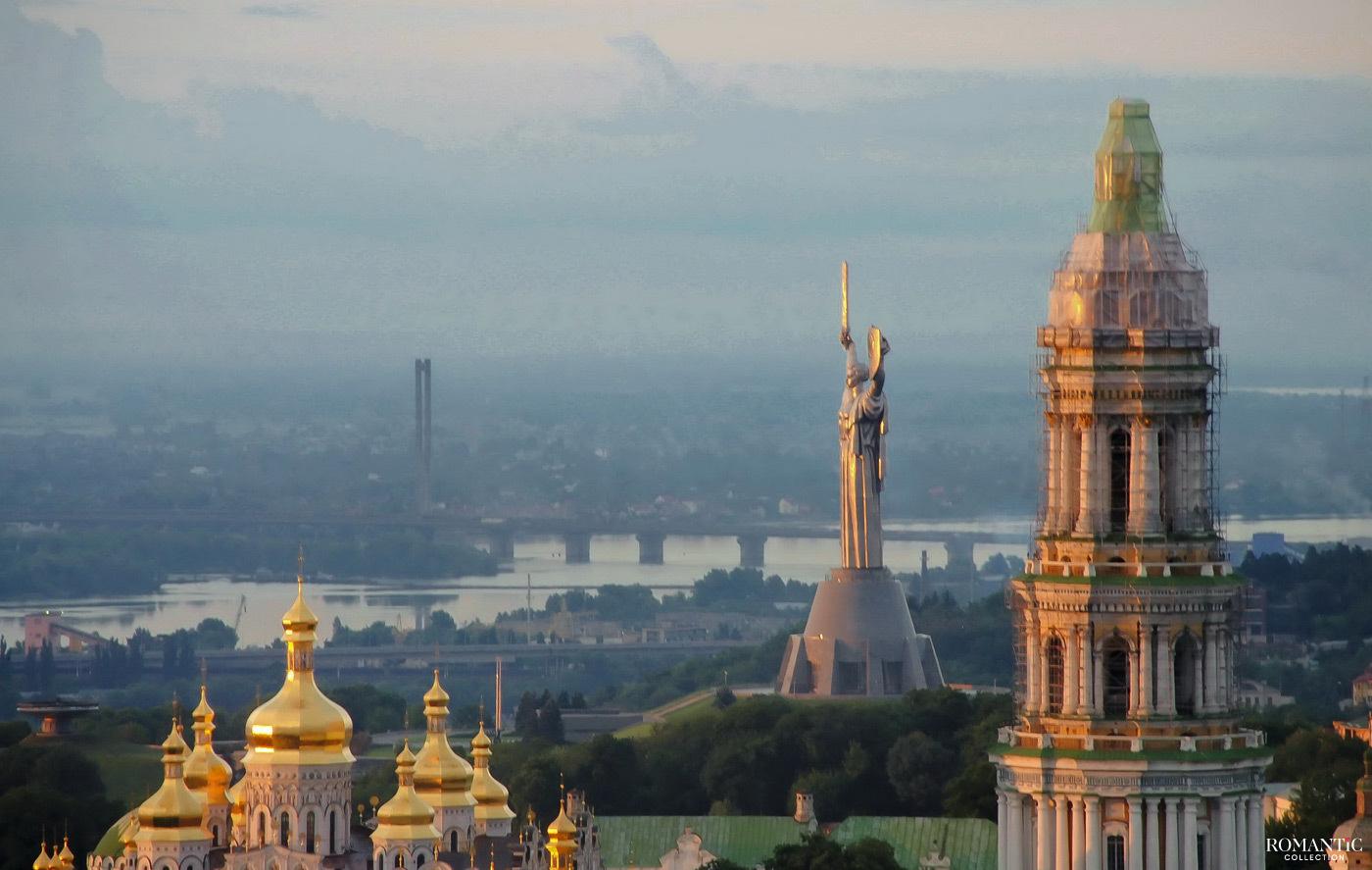 Рассвет на левом берегу Днепра