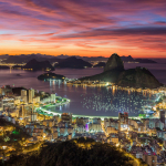 Ночной Рио де Жанейро