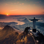 Закат в Рио де Жанейро
