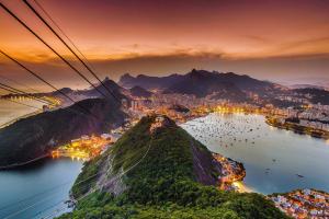 Канатная дорога в Рио де Жанейро