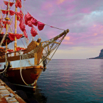 Алые паруса на пристани
