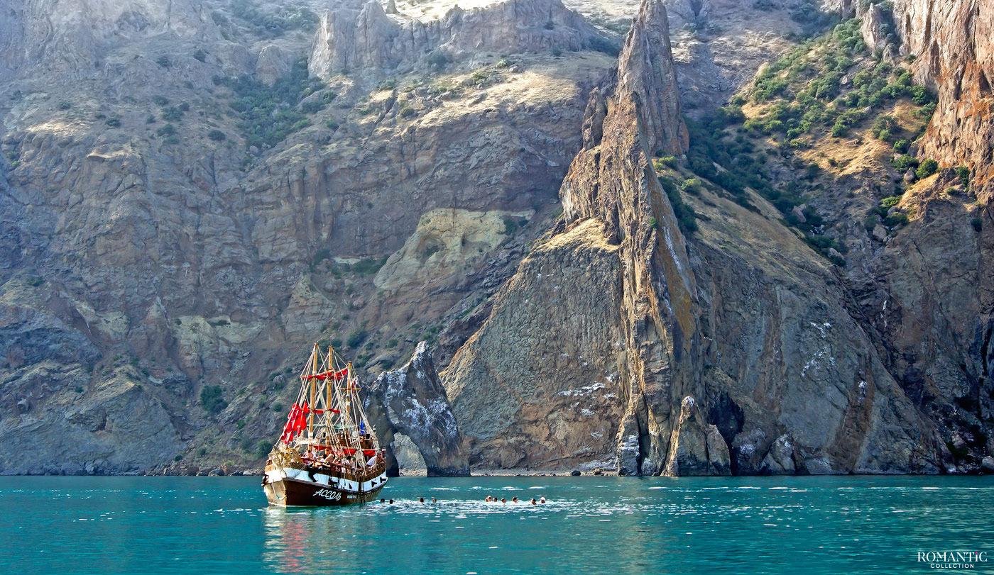 Морская прогулка в заповедник Карадаг