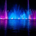 Музыкальный фонтан. Пусан, Южная Корея