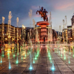 Фонтан «Александр Великий», Скопье, Македония