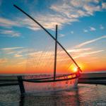 Фонтан «Лодка», Валенсия, Испания