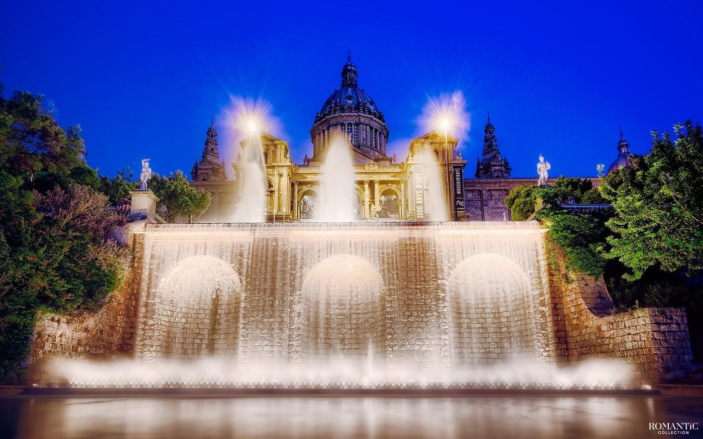 Фонтан Монжуик. Барселона, Испания