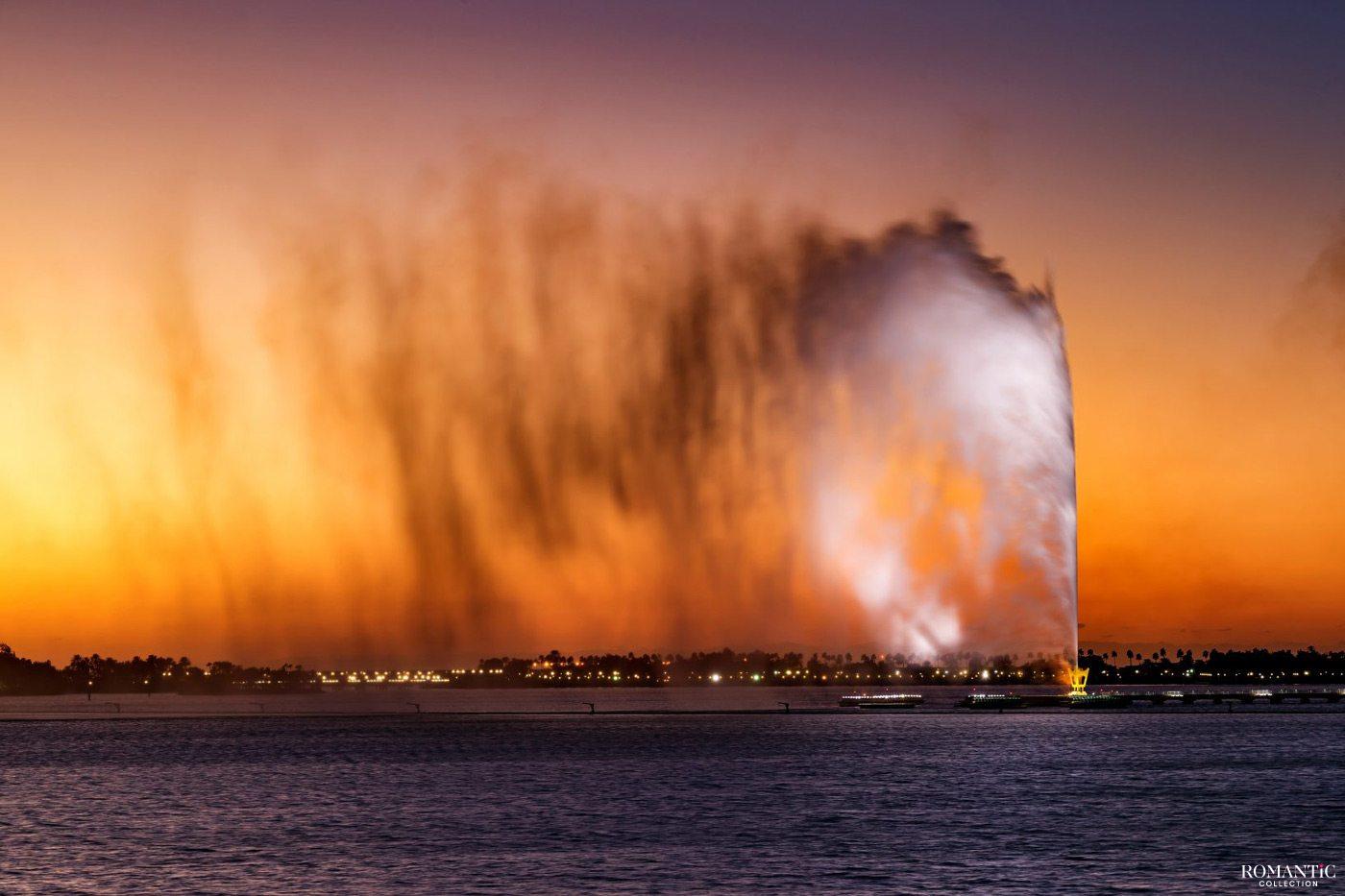 Фонтан короля Фахда. Джидда, Саудовская Аравия