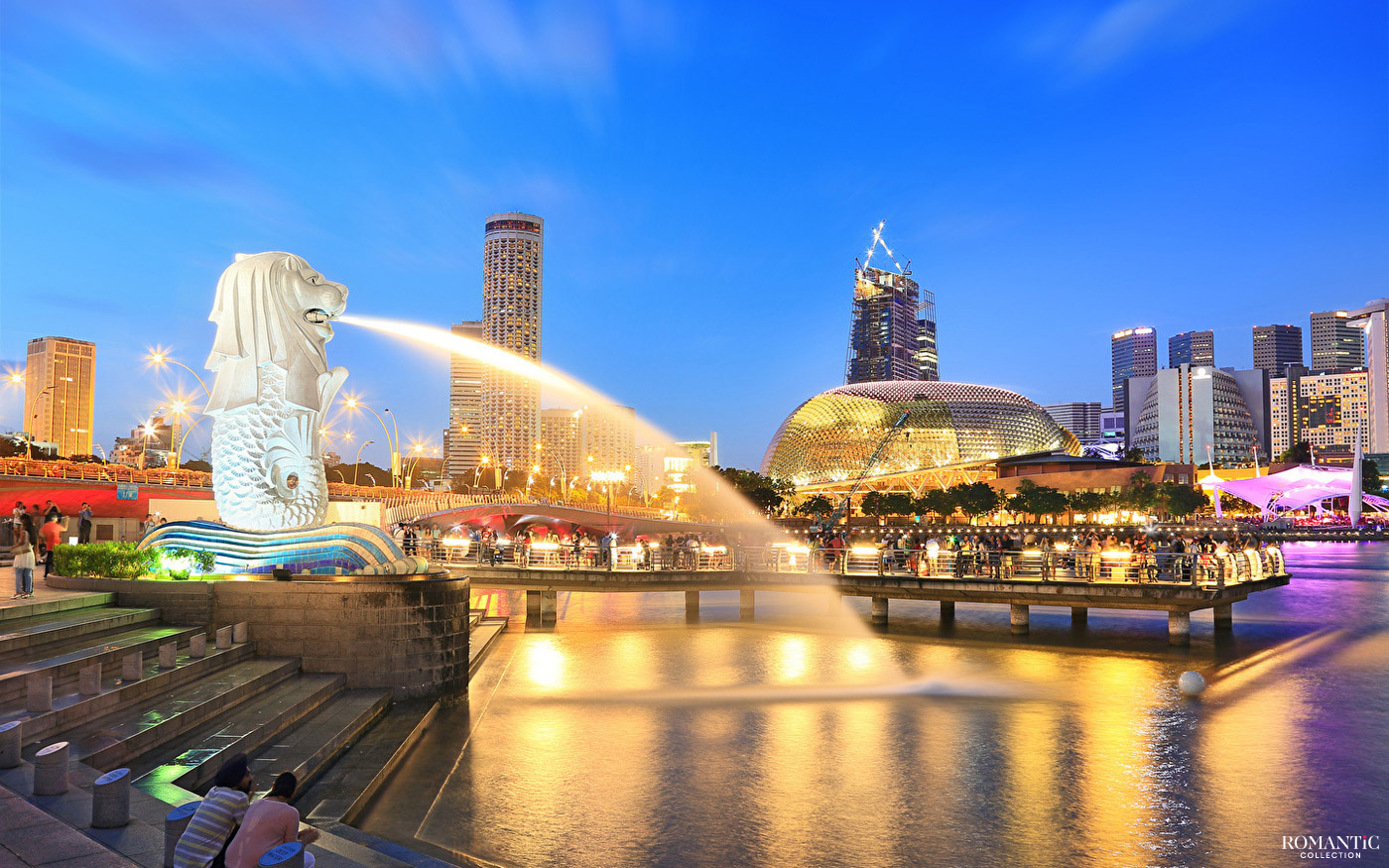 Фонтан Мерлион, Сингапур