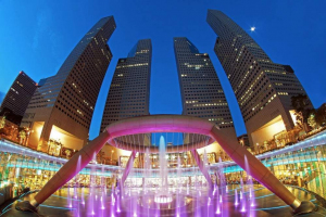 Фонтан богатства, Сингапур