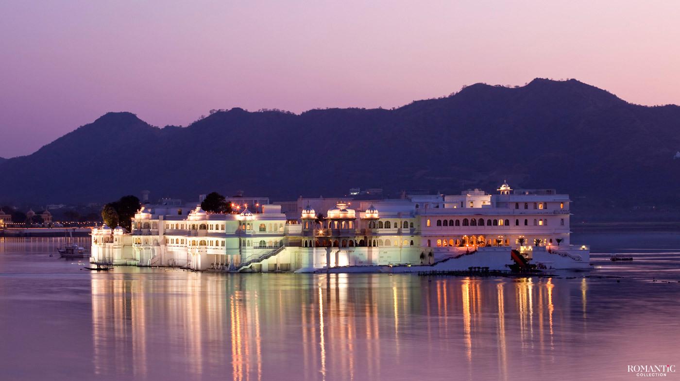 Озёрный дворец Тадж, Удайпур, Индия