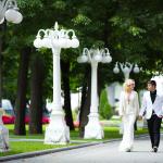 Свадебная прогулка в Саду Эрмитаж