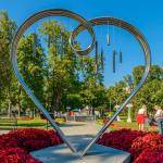 Памятник Влюблённым в Саду Эрмитаж
