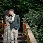 Фотосессия влюблённых в Сосновом Бору
