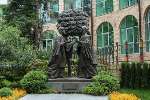 Памятник Петра и Февронии Муромских в Сочи