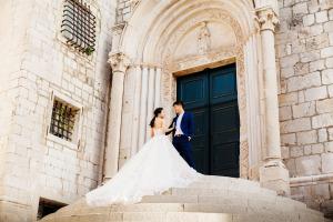 Свадьба в Хорватии в замке