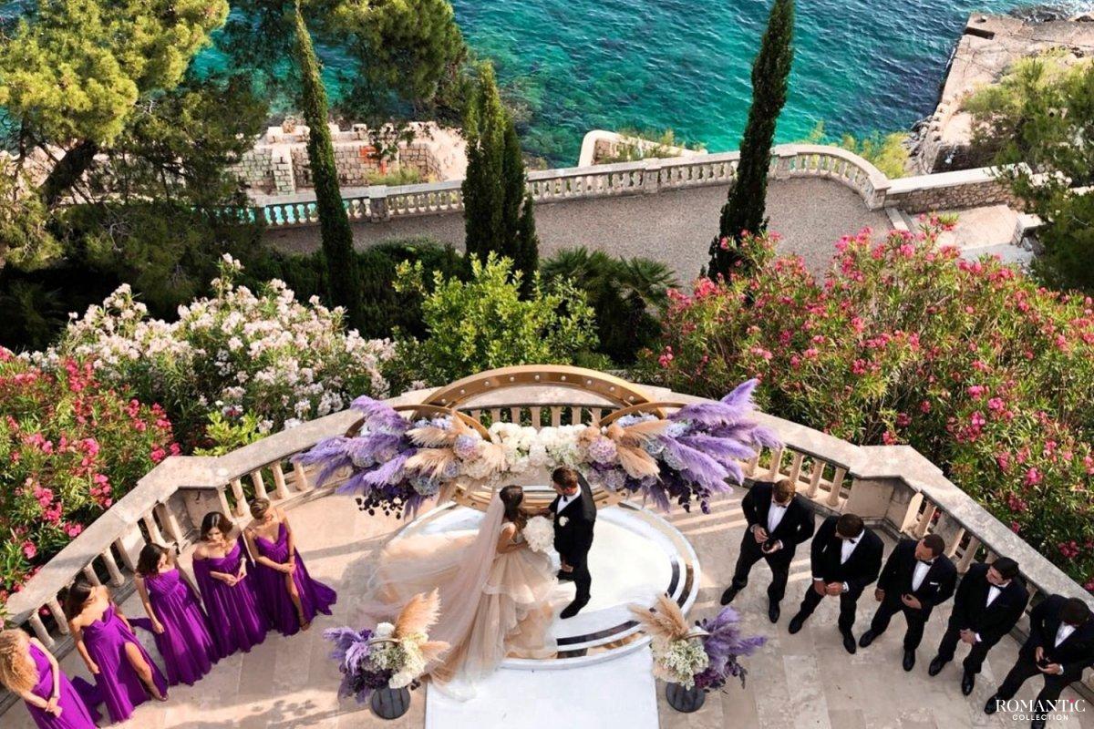 Свадебная церемония в Хорватии