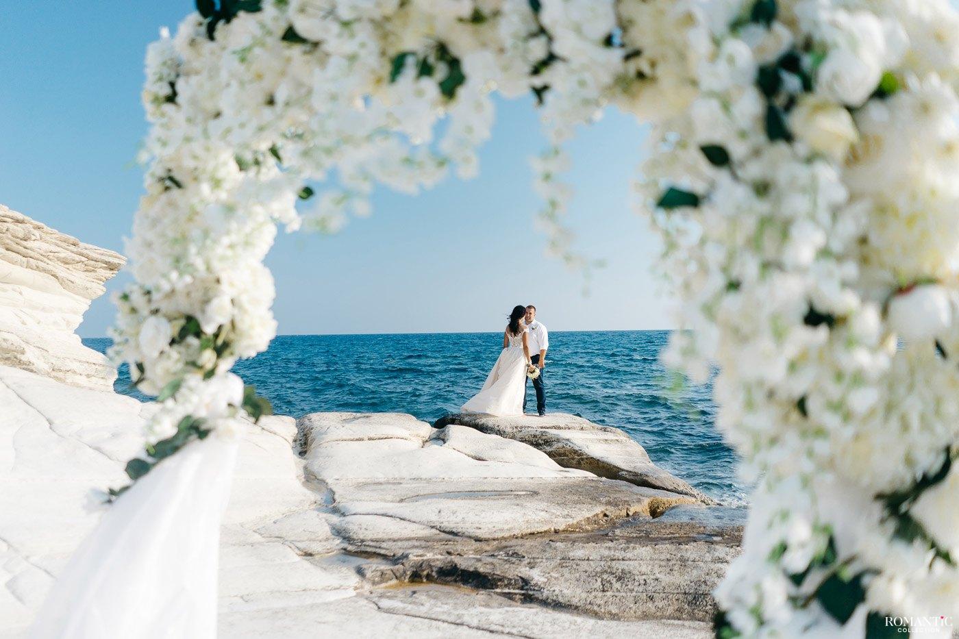 Свадебная церемония на мысе Каво Греко