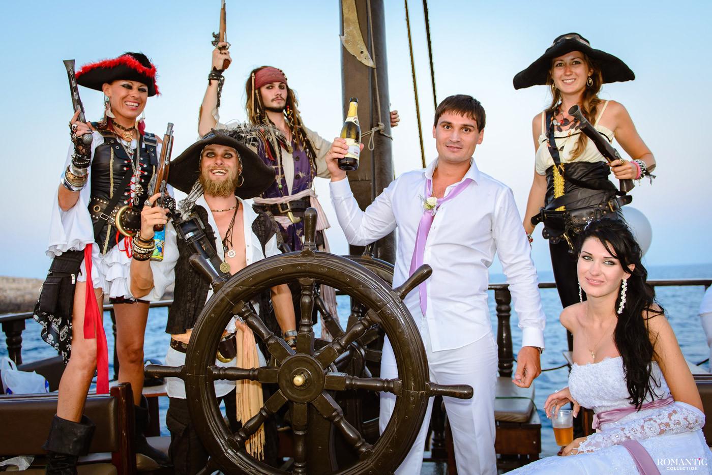 Свадьба на пиратской шхуне