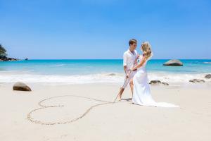 Свадебная фотосессия на Мальдивских островах