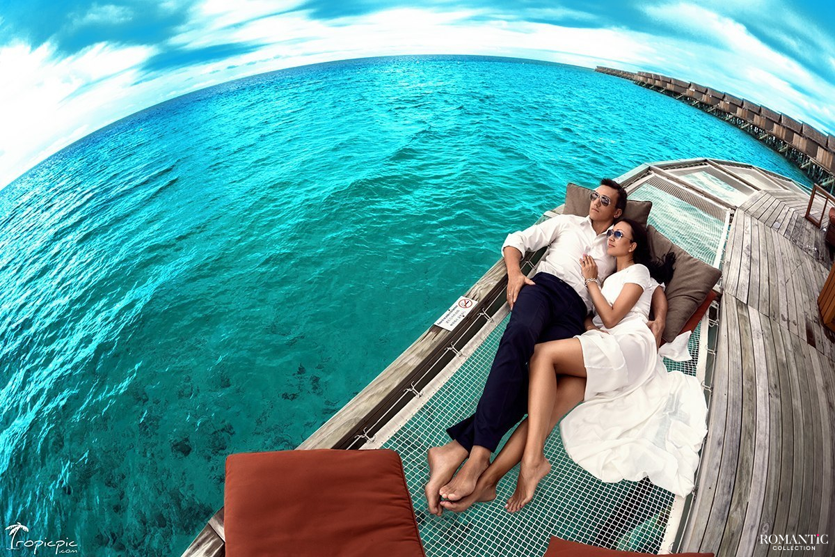 Медовый месяц на Мальдивских островах