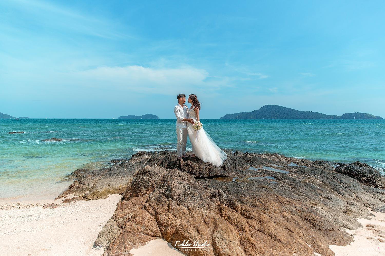 Свадебная фотосессия на острове Пхукет