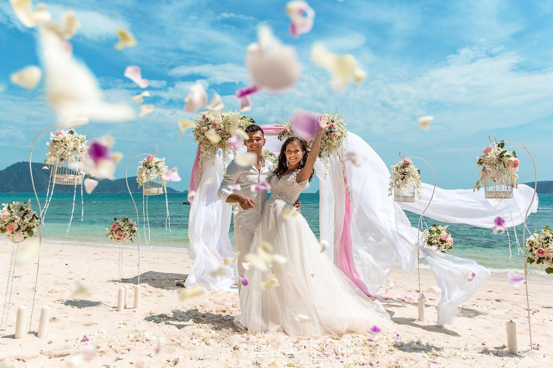 Великолепные пляжи для свадьбы