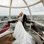 Свадебная церемония на London Eye