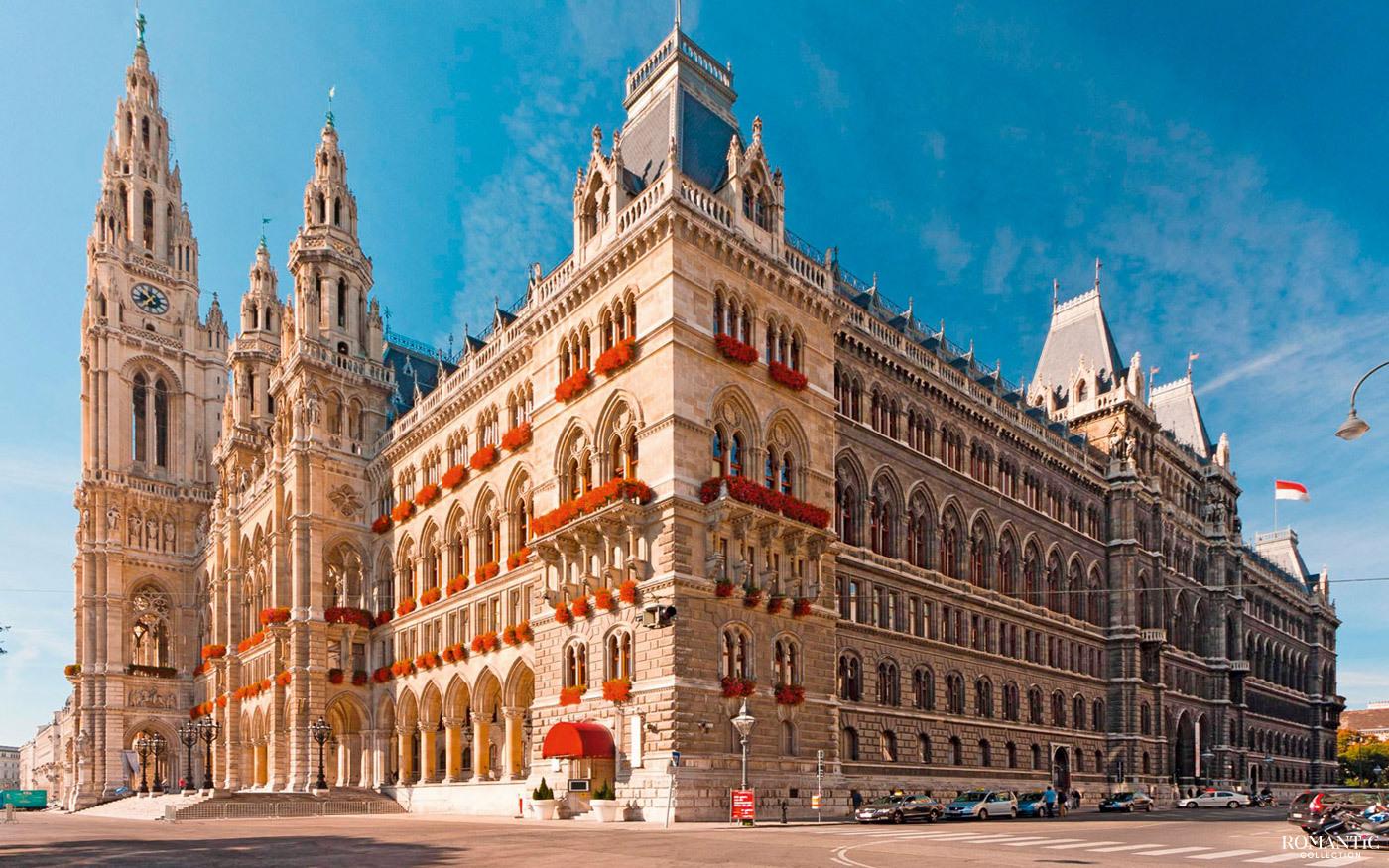 Замок Шенбрунн в Вене