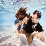 Свадьба под водой в Доминикане