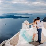 Свадьба на острове Санторини