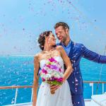 Свадьба в Испании на яхте