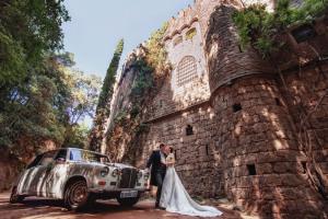 Бракосочетание в замке Мохо в Барселоне