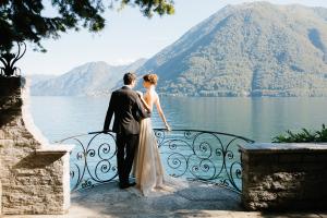 Свадьба в Италии на озере Комо