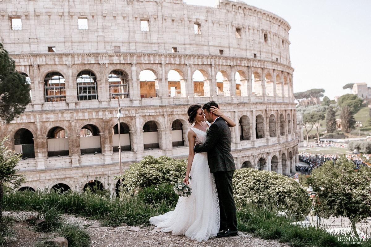 Свадьба в Италии, Рим